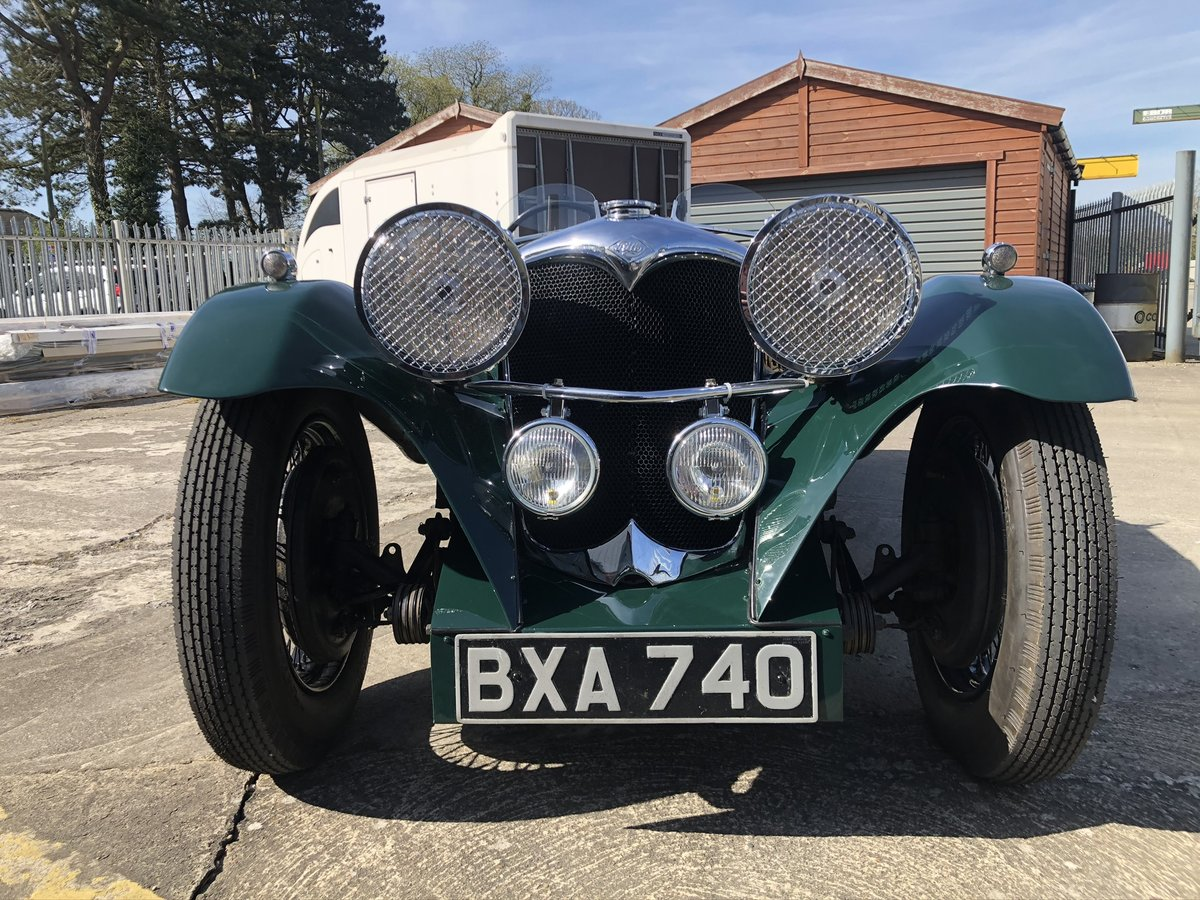 1935 Riley 12/4 Special 2+2 Sports Tourer For Sale (picture 10 of 10)