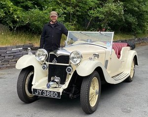 1934 Riley 12/4 Lynx Four Door Four Seater Tourer.
