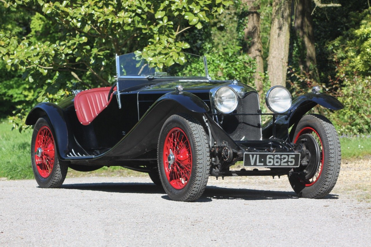 1935 Riley 12/4 Sports Special Zagato style SOLD (picture 1 of 6)
