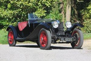 1935 Riley 12/4 Sports Special Zagato style