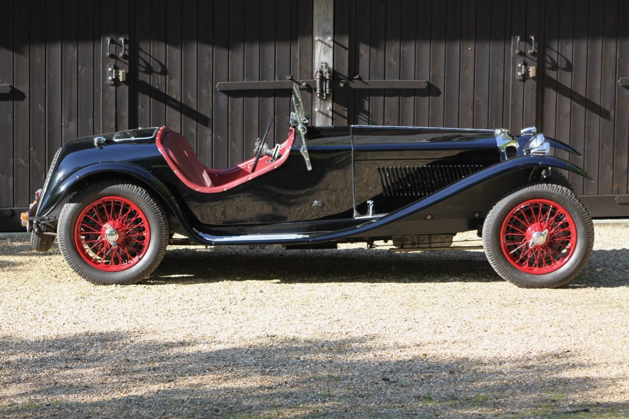 1935 Riley 12/4 Sports Special Zagato style SOLD (picture 3 of 6)