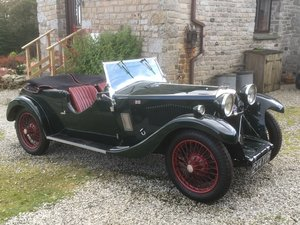 1933 Riley 9 Lynx 4-seater Tourer