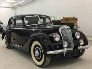 Picture of 1948 Riley 1,5 RMA with original upholstery