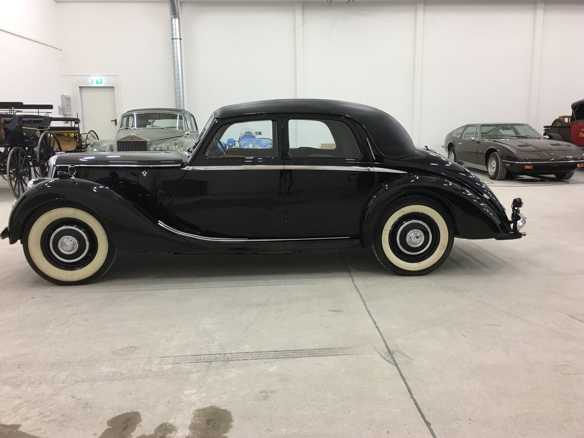 1948 Riley 1,5 RMA with original upholstery For Sale (picture 2 of 6)