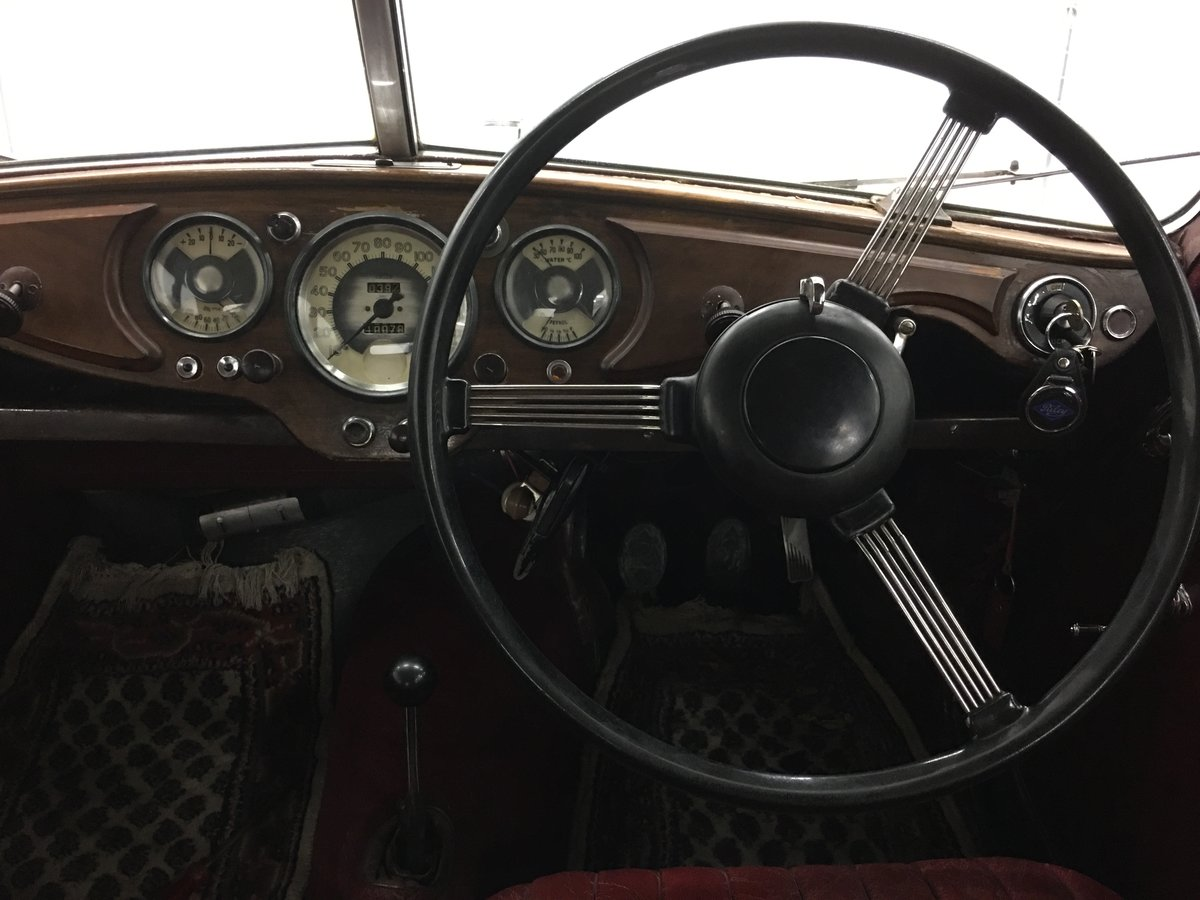 1948 Riley 1,5 RMA with original upholstery For Sale (picture 4 of 6)