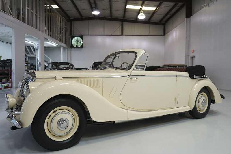 1951 Riley RMD 2 1/2 Litre Drophead Coupe For Sale (picture 1 of 6)