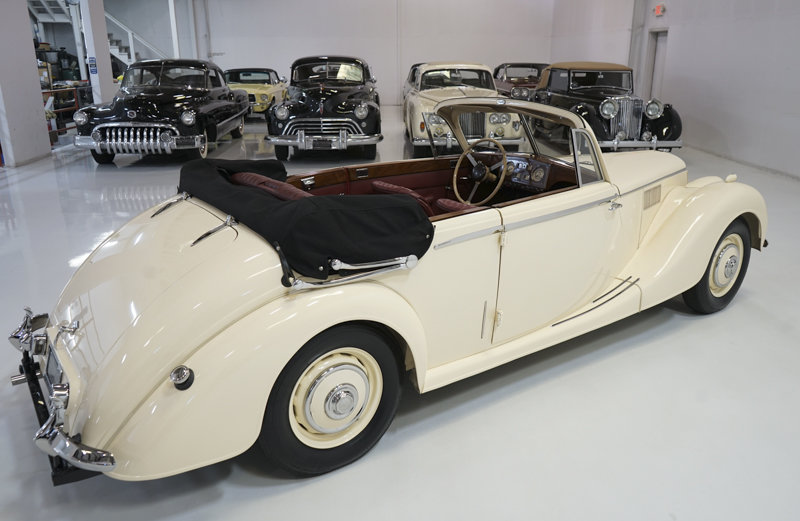 1951 Riley RMD 2 1/2 Litre Drophead Coupe For Sale (picture 2 of 6)