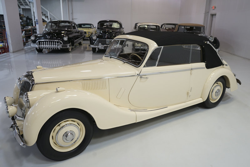 1951 Riley RMD 2 1/2 Litre Drophead Coupe For Sale (picture 3 of 6)