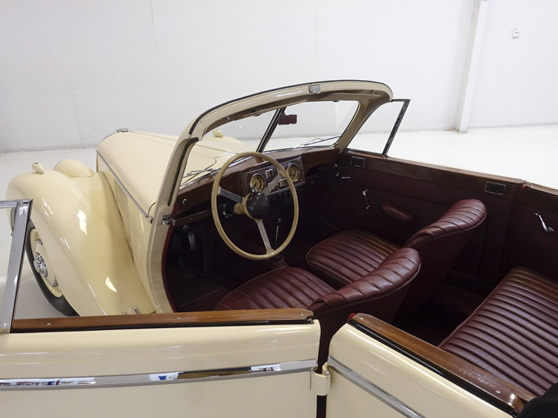1951 Riley RMD 2 1/2 Litre Drophead Coupe For Sale (picture 4 of 6)
