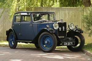 1931 Riley Alpine Saloon