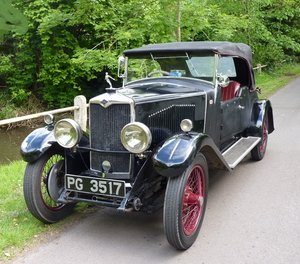 1929 Vintage Riley MKIV Tourer Special