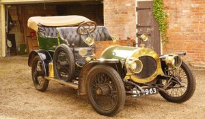 1909 Riley 12/18 For Sale by Auction 19th September For Sale by Auction