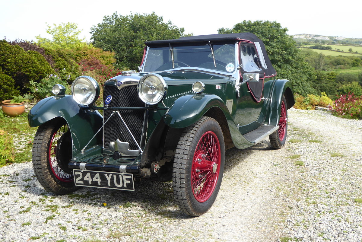 1933 Riley 9 Lynx 4-seater Tourer For Sale (picture 1 of 6)