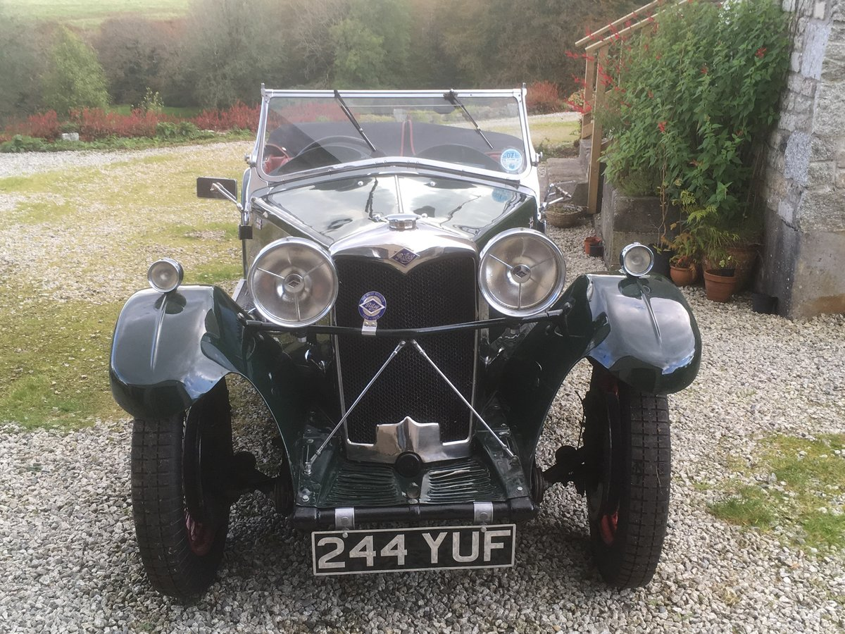 1933 Riley 9 Lynx 4-seater Tourer For Sale (picture 2 of 6)