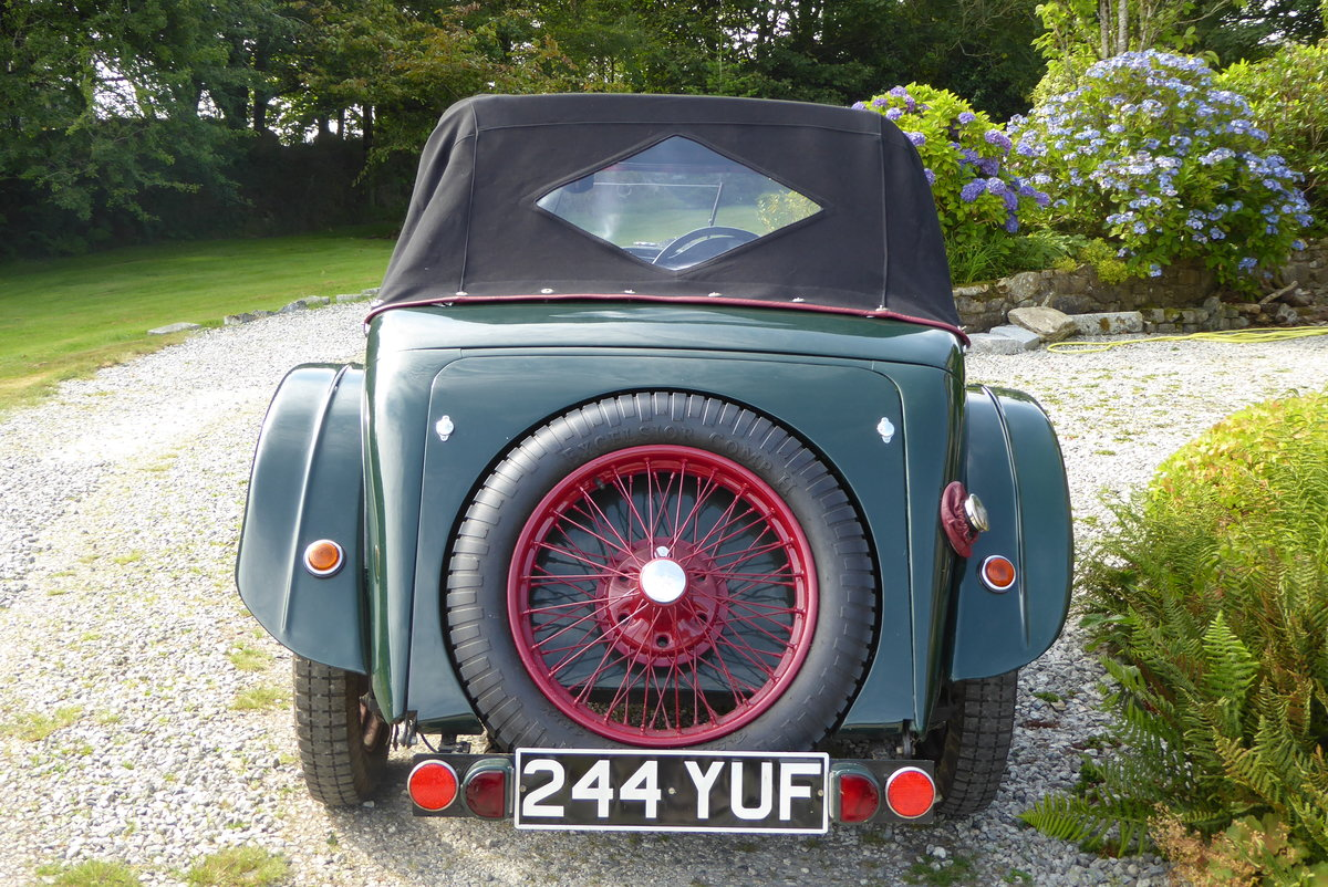 1933 Riley 9 Lynx 4-seater Tourer For Sale (picture 3 of 6)