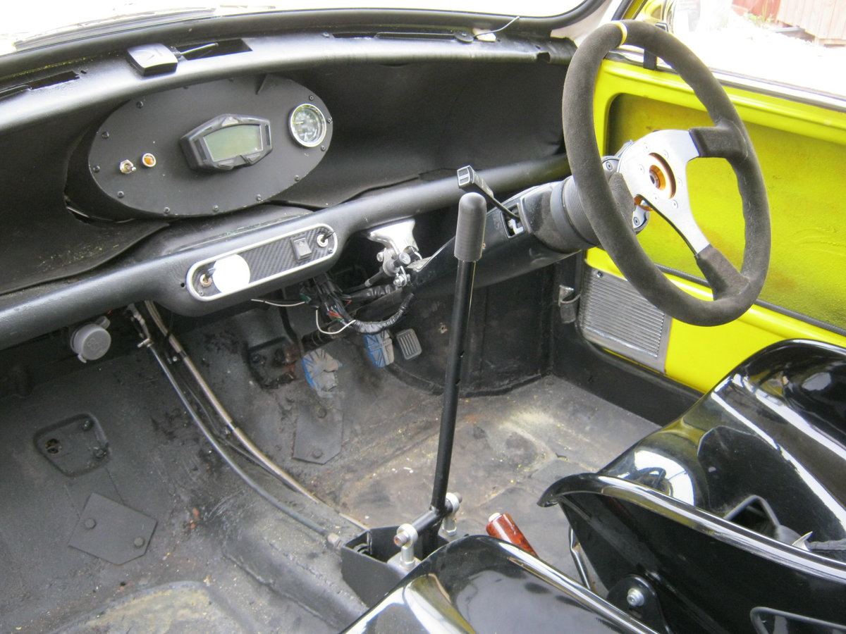 1968 RILEY ELF WITH 160BHP YAMAHA R1 ENGINE AND 6 SPEED BOX. For Sale (picture 6 of 6)