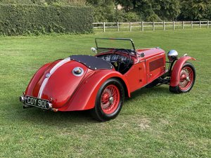 1937  Riley 12/4 'Sprite' Evocation