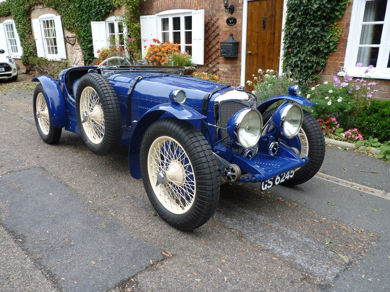 1936 Riley 12/4 Road/Race Special SOLD (picture 1 of 6)
