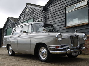 1962 RILEY 4/72 - FULLY RESTORED CAR WITH INTERESTING HISTORY !!