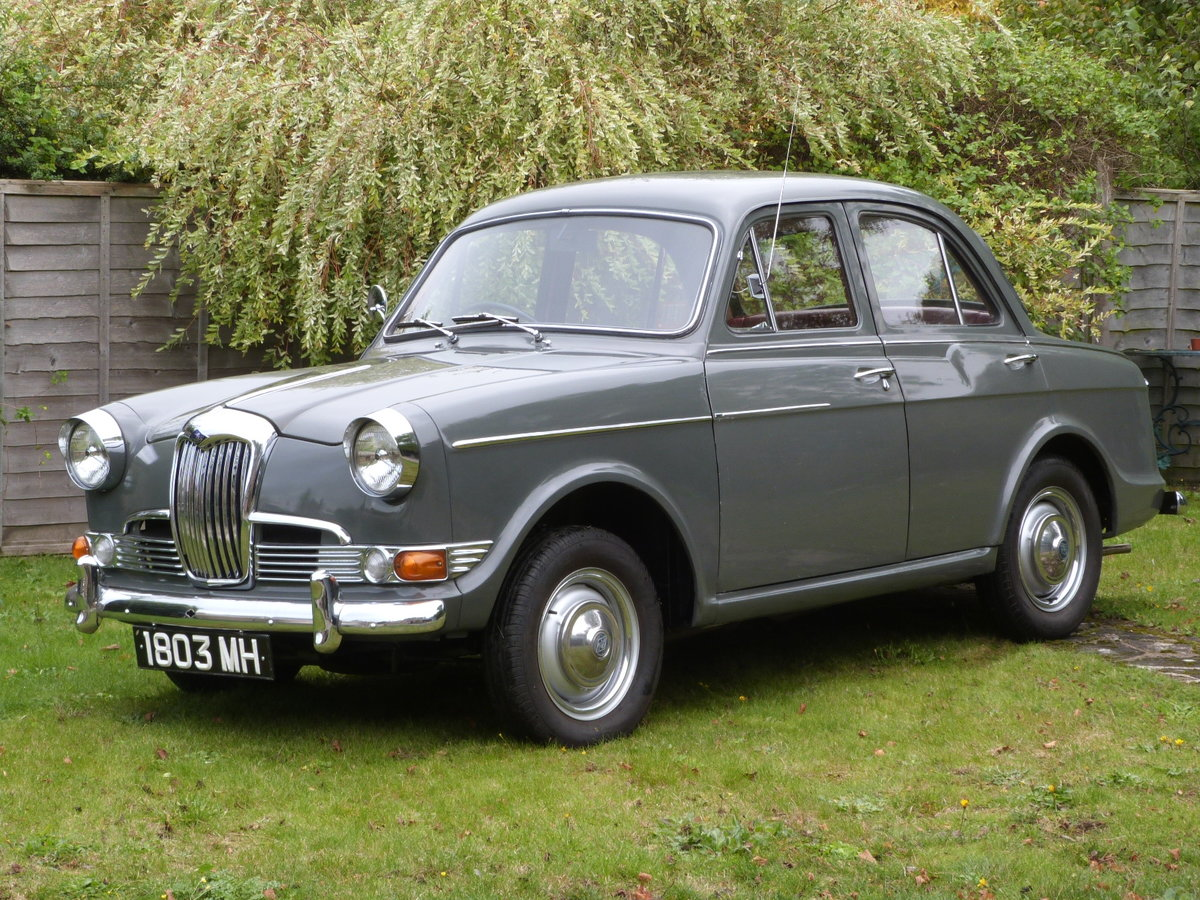 1960 Riley One Point Five Mk II.  ***SOLD*** SOLD (picture 1 of 6)