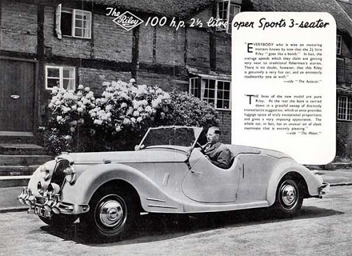 1948 Riley RMC Roadster  LHD  Demonstrator/Prototype For Sale (picture 6 of 6)