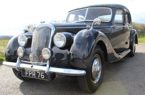 1952 Riley RMF 2.5 Saloon Beautiful 50,s Saloon