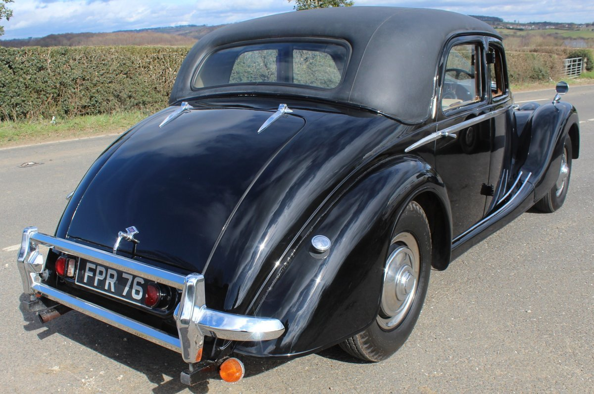 1952 Riley RMF 2.5 Saloon Beautiful 50,s Saloon  For Sale (picture 2 of 6)