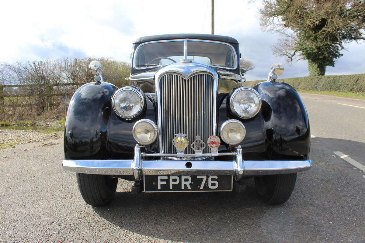 1952 Riley RMF 2.5 Saloon Beautiful 50,s Saloon  For Sale (picture 3 of 6)