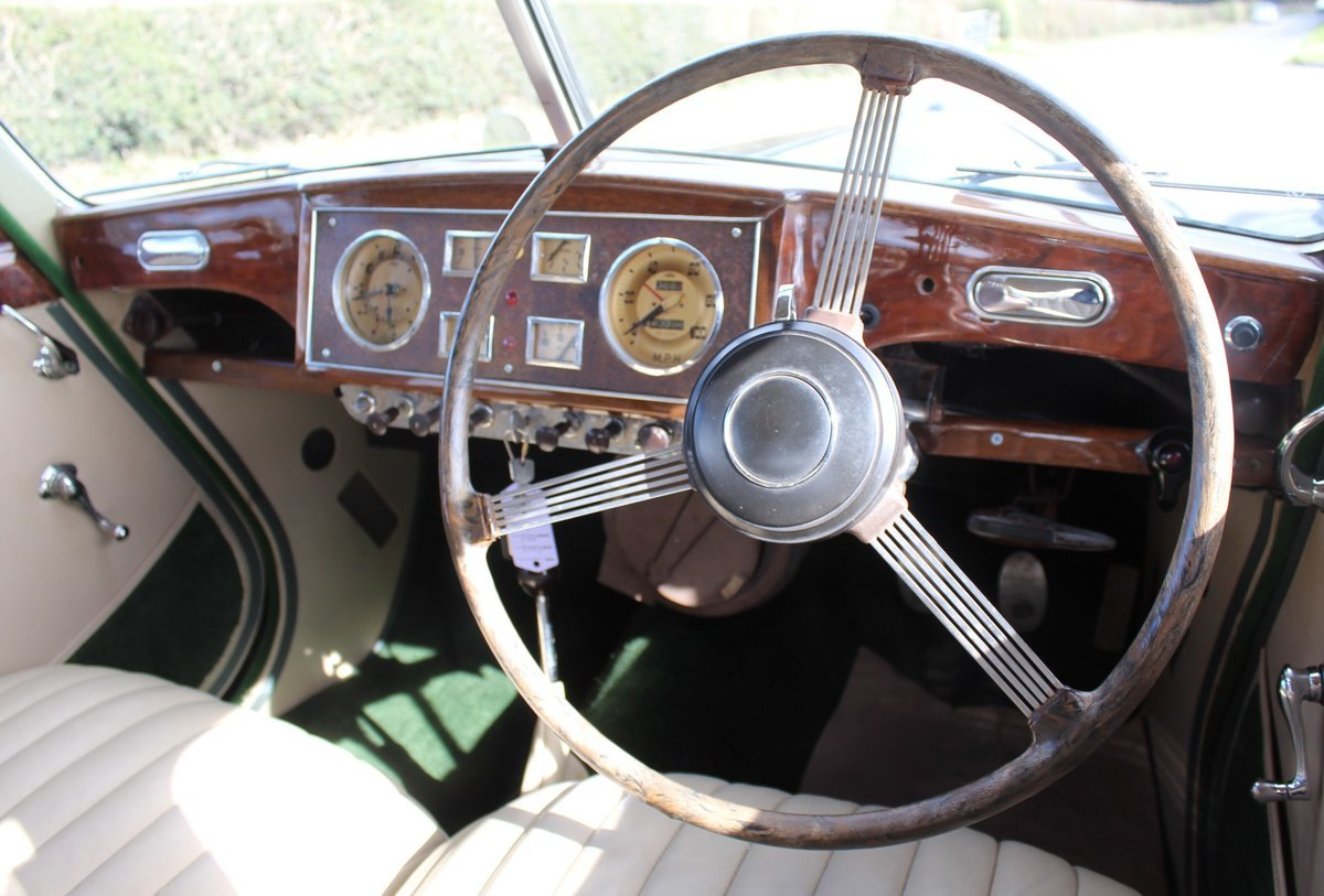 1952 Riley RMF 2.5 Saloon Beautiful 50,s Saloon  For Sale (picture 5 of 6)