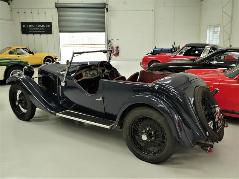1933 Riley 9 Lynx 4 Seater Tourer - Disappearing Hood For Sale (picture 3 of 6)