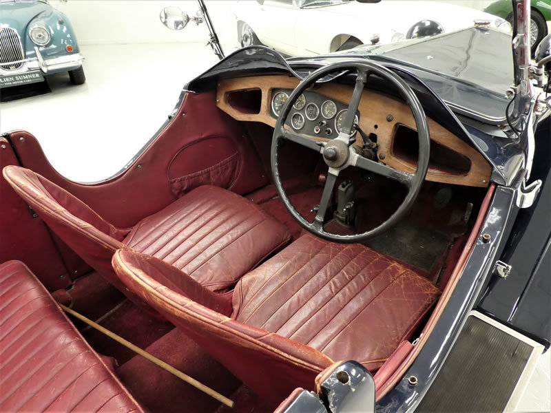 1933 Riley 9 Lynx 4 Seater Tourer - Disappearing Hood For Sale (picture 4 of 6)
