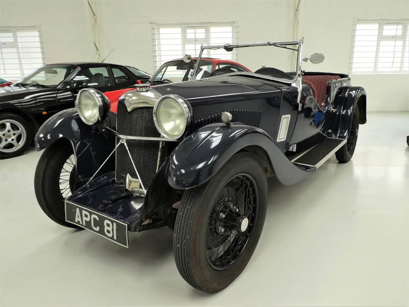 1933 Riley 9 Lynx 4 Seater Tourer - Disappearing Hood For Sale (picture 1 of 6)