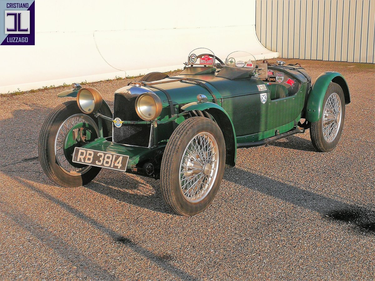 """1931 RILEY 9 special """"BROOKLANDS"""" For Sale (picture 2 of 12)"""