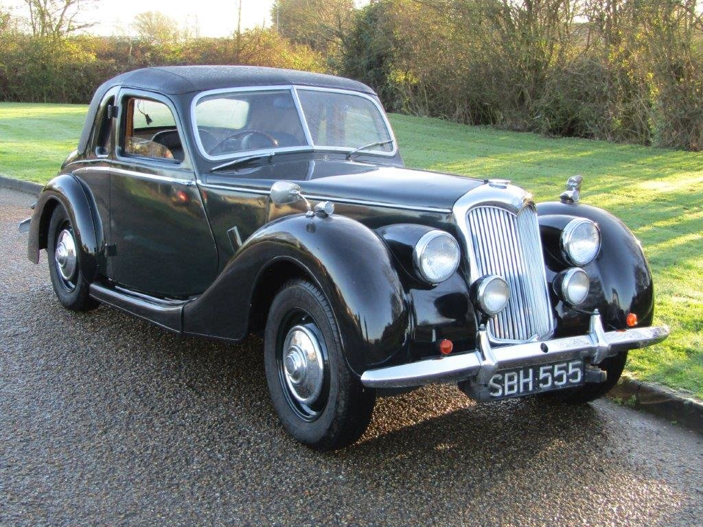 1953 Riley RMF 2.5 Litre at ACA 27th and 28th February For Sale by Auction (picture 1 of 10)