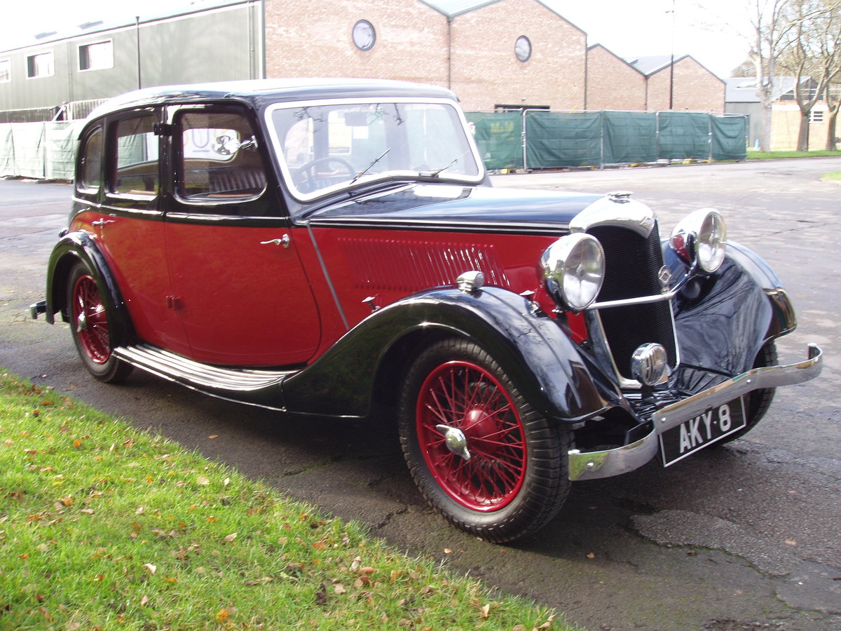 1936 Riley 12/4 Adelphi saloon For Sale (picture 1 of 10)