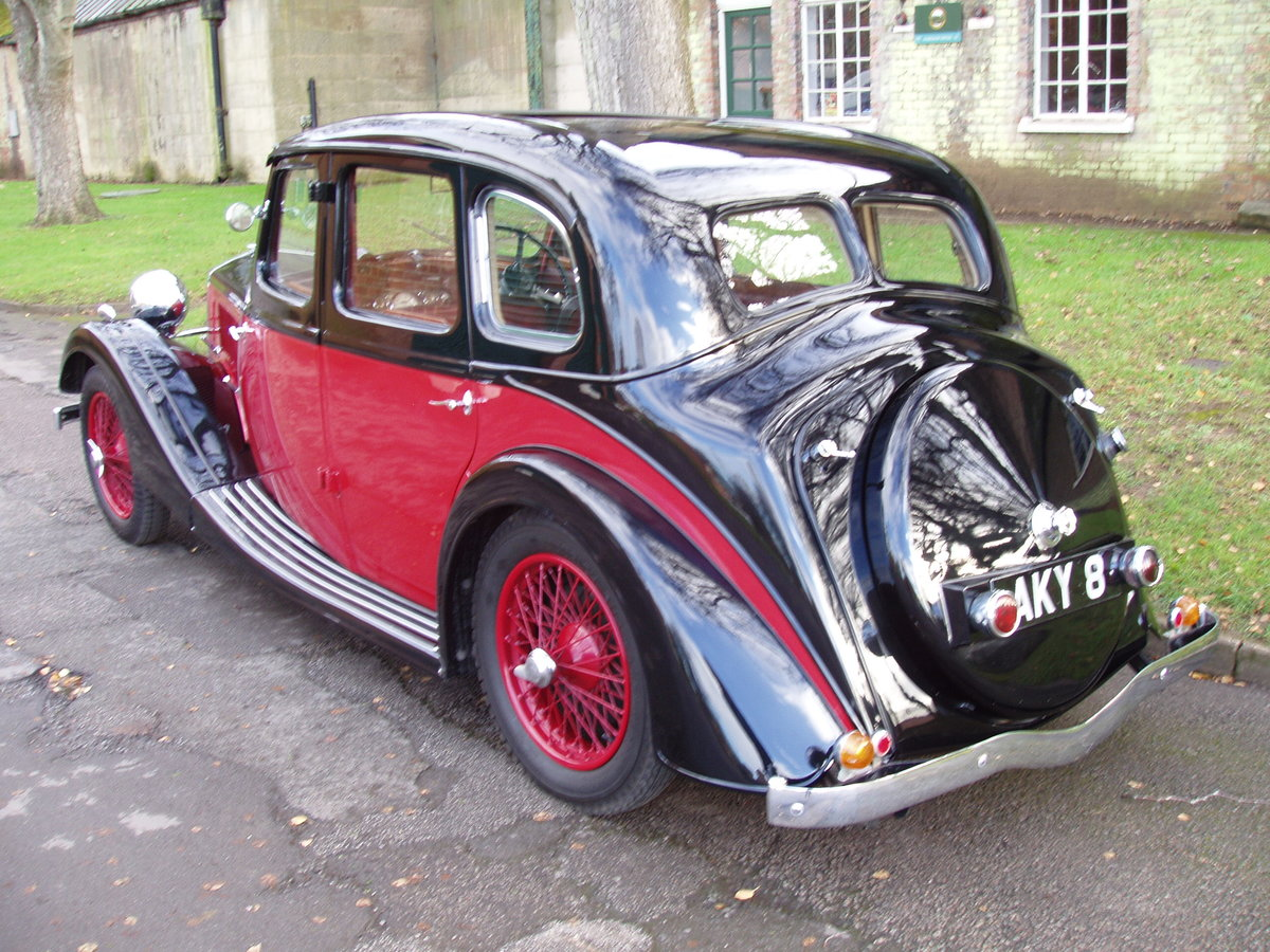 1936 Riley 12/4 Adelphi saloon For Sale (picture 2 of 10)