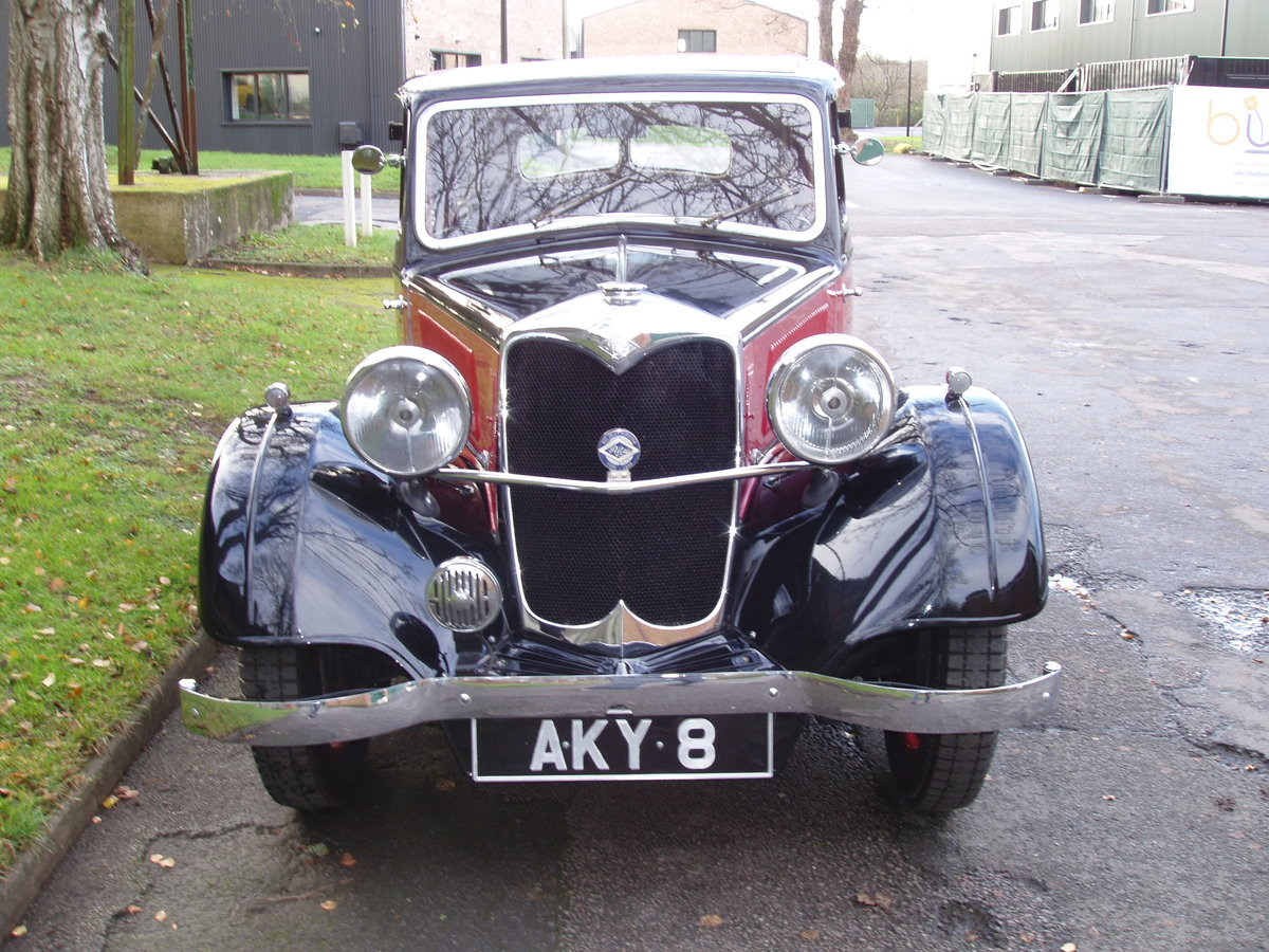 1936 Riley 12/4 Adelphi saloon For Sale (picture 3 of 10)