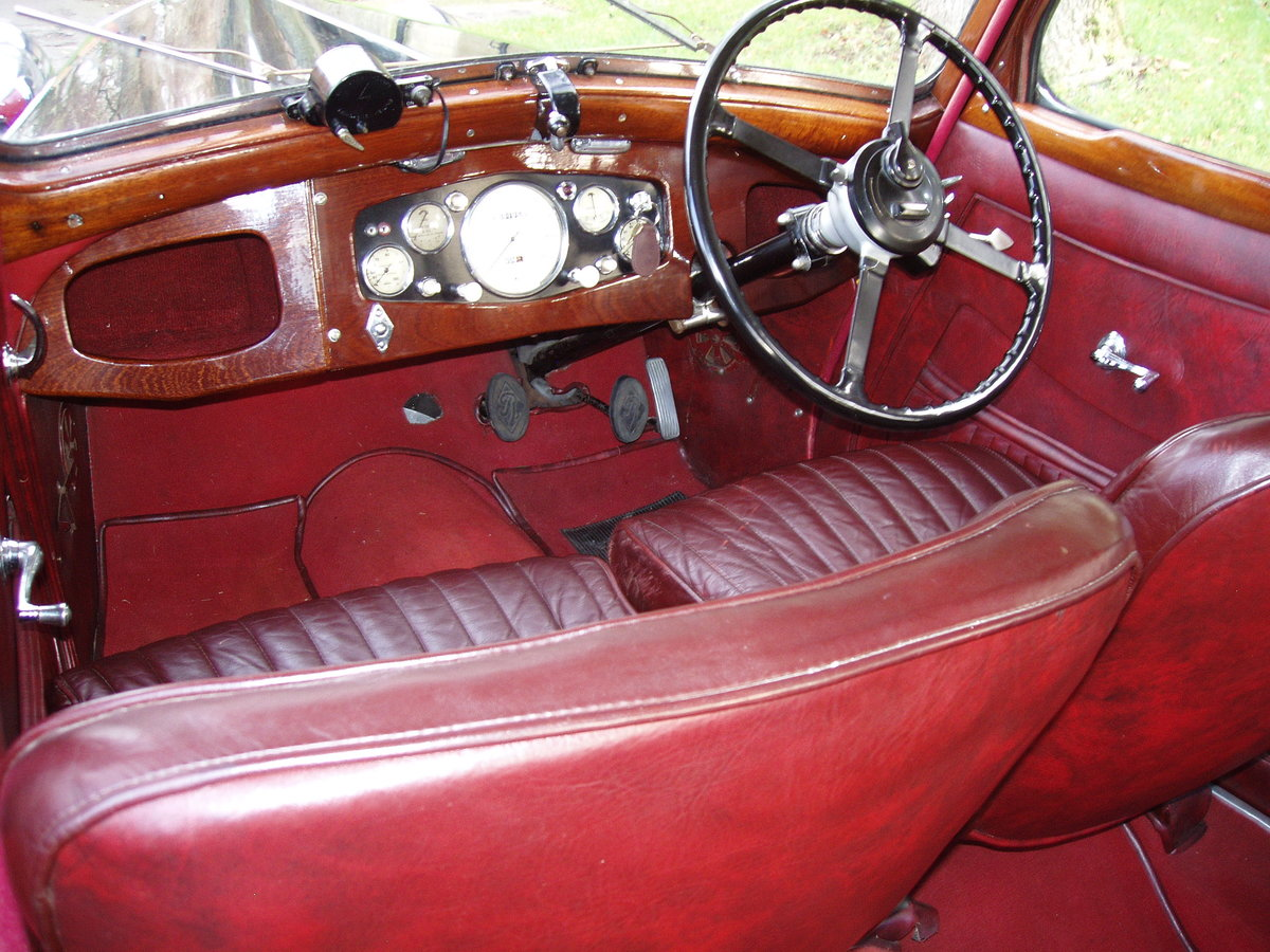 1936 Riley 12/4 Adelphi saloon For Sale (picture 6 of 10)