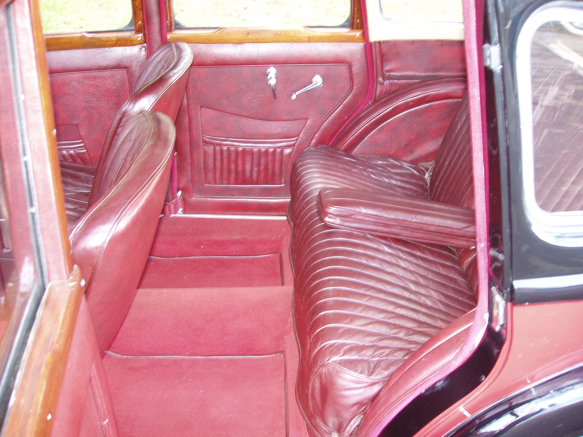 1936 Riley 12/4 Adelphi saloon For Sale (picture 7 of 10)