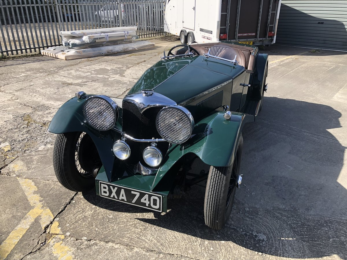 1935 Riley 12/4 Special 2+2 Sports Tourer For Sale (picture 11 of 20)