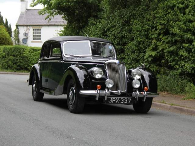 1948 RILEY RMB 2.5CC EX GENUINE POLICE CAR & ex GOODWOOD POLICE For Sale (picture 1 of 12)