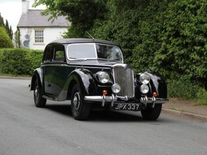 Picture of 1948 RILEY RMB 2.5CC EX GENUINE POLICE CAR & ex GOODWOOD POLICE For Sale