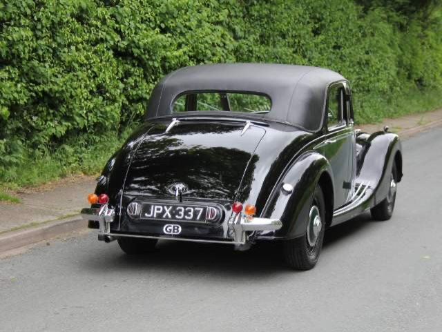 1948 RILEY RMB 2.5CC EX GENUINE POLICE CAR & ex GOODWOOD POLICE For Sale (picture 2 of 12)