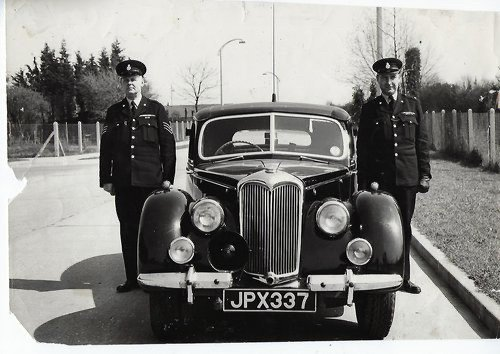 1948 RILEY RMB 2.5CC EX GENUINE POLICE CAR & ex GOODWOOD POLICE For Sale (picture 4 of 12)