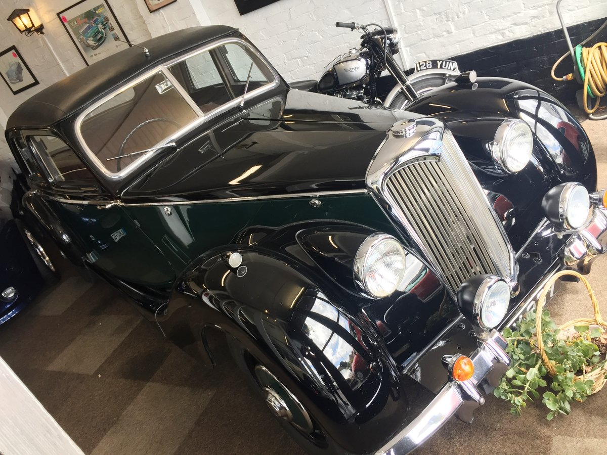 1948 RILEY RMB 2.5CC EX GENUINE POLICE CAR & ex GOODWOOD POLICE For Sale (picture 5 of 12)