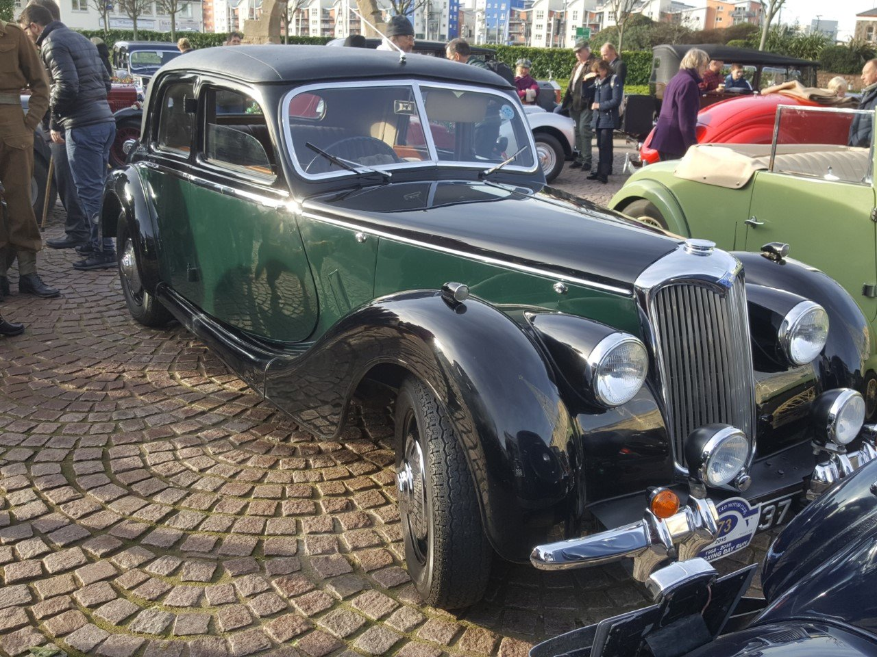 1948 RILEY RMB 2.5CC EX GENUINE POLICE CAR & ex GOODWOOD POLICE For Sale (picture 6 of 12)