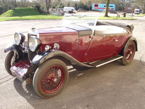 1932 Riley 9 Holbrook tourer For Sale (picture 2 of 6)