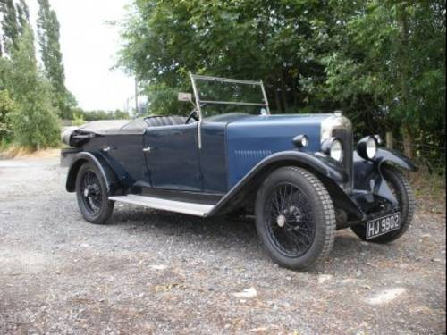 1930 Riley 9 Mk 4 Tourer  For Sale by Auction (picture 1 of 1)