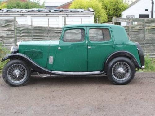 1934 RILEY 9 Monaco For Sale by Auction (picture 1 of 1)