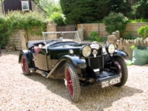 1932 Riley Gamecock for sale in Hampshire... SOLD (picture 1 of 6)